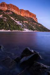 Couleurs de l'Arène (CarolineMart.) Tags: plage arène cassis provence paca sunset longexposure canon 60d nd1000 crêtes sea