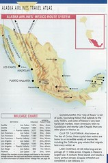 Alaska Mexico route system, 1995 (airbus777) Tags: alaskaairlines routemap 1995