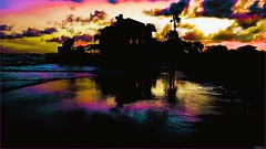 Rainy Night House (tom_roche21) Tags: rainynighthouse fellintoadream youcalledyourmother shewasverytan jonimitchell vilanobeachflusa jettylife atlanticocean hipstamatic staugustineflusa beachhouse nightphoto
