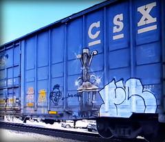(timetomakethepasta) Tags: felon freight train graffiti art csx boxcar csxt