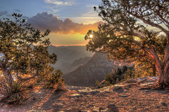 Morning in the Canyon (Michael F. Nyiri) Tags: sunrise grandcanyon grandcanyonnationalpark cloudscapes composite compositeartwork