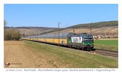 Br 193 229 ELL - Karlstadt (CC72080) Tags: br193 vectron ell rurtalbahn cargo train zug autozug güterzug locomotive lokomotive locomotiva treno merci marchandise
