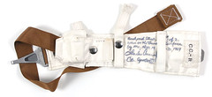 Apollo 12 Life Support Backpack Strap Used on Two Moon Walks (jurvetson) Tags: pete charles conrad apollo 12 flown lunar surface plss backpack strap r right moon b543 v72361720