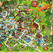 Chessington World Of Adventure 2018 Park Map