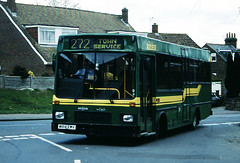 East Sussec County Council M814 EWV (mj.barbour) Tags: east sussec county council m814 ewv dennis dart 9sdl lcb leicester coach builders