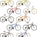 自転車の写真