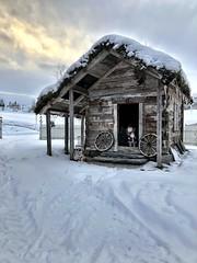 Rekkedalstove -|- Cottage (erlingsi) Tags: rekkedal ørsta sunnmøre vinter stove winter shack
