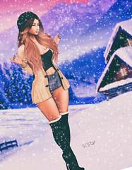 ◈№.637 - winter wonderland (αlιcα r. vαɴ нell) Tags: pure poison runaway design adorsy cosmopolitan c88 collabor88 winter girl sl secondlife catwa maitreya