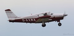Piper PA-24 Comanche G-AXMA Lee on Solent Airfield 2019 (SupaSmokey) Tags: piper pa24 comanche gaxma lee solent airfield 2019
