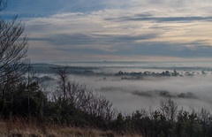 Above the mist in Devizes (Pete - Flashpoint Photography) Tags: xt2 nationaltrust wiltshire roundway down