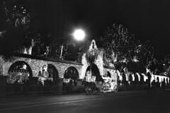 Mission Inn - Festival of Lights (Michael VH) Tags: trix400 rodinal night push 6400 mission inn riverside california