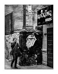 Paint It, Black (francis_bellin) Tags: blackanwhite málaga andalousie streetphoto street homme club photoderue manteau noiretblanc monochrome hiver rue janvier bw 2019 langue espagne