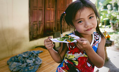 Little Lao Lunch From the Pretend Kitchen (toastal) Tags: girl child laos luangprabang mekong play pretend cooking cute happyplanet asiafavorites