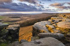 Stanage Edge (MDJL Landscapes) Tags: stanageedge peakdistrict nationalpark sunset rockformations rockclimbing nikon landscapephotography derbyshire