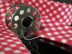 Hobby (silvia07(very busy)) Tags: hobby macromondays macro bobbin sewing sew