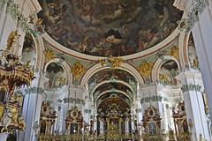 St. Galen, church (t.horak) Tags: baroque church ceiling painting altar pulpit arch columns stgalen heaven