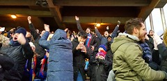 GOAL..! Palace v Spurs (FA Cup 2019) (Paul-M-Wright) Tags: crystal palace fc versus tottenham hotspur spurs fa cup fourth round selhurst park london uk cpfc thfc football supporters soccer fans goal celebration cheering celebrating southlondon footballground