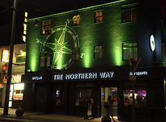 The Northern Way in Preston (Tony Worrall) Tags: preston lancs lancashire city welovethenorth nw northwest north update place location uk england visit area attraction open stream tour country item greatbritain britain english british gb capture buy stock sell sale outside outdoors caught photo shoot shot picture captured ilobsterit instragram photosofpreston friargate street urban neon lit night lights signs opening venue evening thenorthernway entrance bar inn boozer publichouse pub