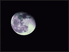 Moon Shot Taken On December 24, 2018 And Edited On February 16, 2019 - All Work by STEVEN CHATEAUNEUF (snc145) Tags: sky moon texture nature editedimage photo december242018 february162019 stevenchateauneuf bright bold vivid flickrunitedaward
