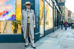 Soho's Characters – George Skeggs (JuliSonne) Tags: georgeskeggs sohogeorge london soho artist character fashion dandy gentleman bohemian surrealist