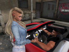 Need a ride baby? (Lilly Cicaskes) Tags: sexy ride female male adorable gorgeous sl fun ferrari firestormsecondlifesecondliferegionzitwilightsecondlifeparcelmaturedoggerspublicsexparksecondlifex112secondlifey205secondlifez23