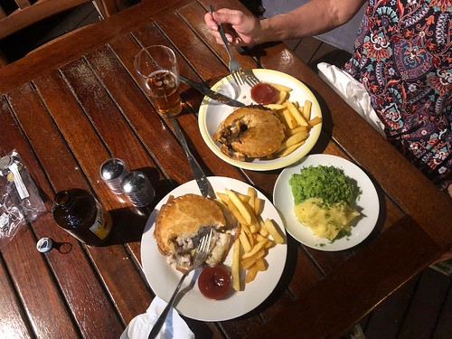 Meat Pies and Mushy Peas at Strait on the Beach
