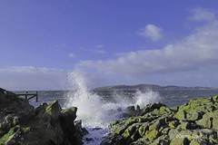 Post Erik Portencross1 (g crawford) Tags: portencross ayrshire northayrshire storm erik eric stormerik stormeric crawford wave wavy breaker cumbrae weecumbrae littlecumbrae smallcumbrae clyde riverclyde firthofclyde wind windy weather sea water westkilbride