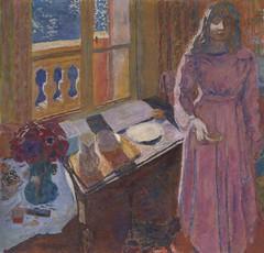 Pierre Bonnard, The Bowl of Milk, 1919 (Selma Morgenstern) Tags: pierrebonnard frenchpainter painting interior 1919