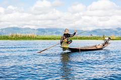 Fisherman (Laszlo Horvath.) Tags: myanmar burma nikond7100 nikon50mmf18g inlelake fisherman travelling travel adventure