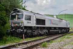 BR 266 061 Rhein Cargo - Aichstetten (Giovanni Grasso 71) Tags: de 61 rhein cargo aichstetten nikon d610 giovanni grasso br266 class 66