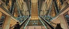 20190302_DP0Q6567-21x9 (NAMARA EXPRESS) Tags: travel escalator construction structure reflection mirror amazing daytime spring indoor color marion yurakucho tokyo japan spp spp661 foveon x3 sigma dp0 quattro wide ultrawide superwide namaraexp