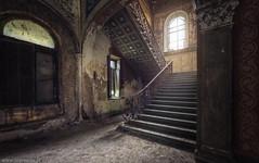 Villa Imperiali (trip_mode) Tags: abandoned decay urbex urban exploration exploring trip derelict trespassing house architecture villa window mansion manor