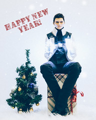 Happy New Year! (toriasoll) Tags: rk900 android rk900richard detroitbecomehuman detroit detroitcosplay dsdoll dsdollferret bjd abjd