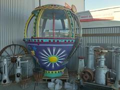 Old Merry-Go-Round carriage (nickant44) Tags: carousel ride booth carriage australia nokia ferris wheel glenelgferriswheel adelaide southaustralia