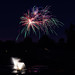 Fireworks over Copper Grove Pond