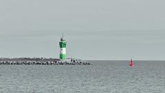 Sehnsucht (Don Bello Photography) Tags: winter 2018 sassnitz mukran hafen leuchtturm lighthouse mole wasser ostsee balticsea colorkey rotgrünsehnsuchthimmelhimmelsbildersilenceruheacdseepanasonic fz1000lumix fz 1000reinhard bellmannmecklenburg vorpommerndon bello photographyinsel rügen