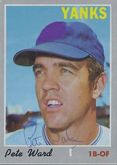 1970 Topps - Pete Ward #659 (High Number) (First Base / Outfielder) - Autographed Baseball Card (New York Yankees) (Treasures from the Past) Tags: 1970 topps 1970topps baseball cards baseballcard vintage auto autograph graf graph graphed sign signed signature peteward newyorkyankees firstbase outfielder canada montrealquebec