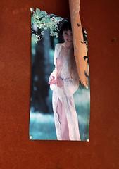 Man Cave jatkuu (23) (jmharju72) Tags: urbanexploration autiotalo urbex finland miesluola mancave rusty asian woman poster