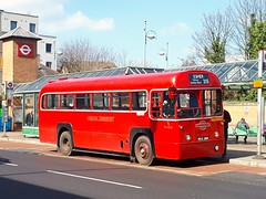 RF406 MXX294 (PD3.) Tags: weybridge heights amersham district motorbus society london transport rf kingston staines esher aec regal weymann bus buses rf406 f 406 mxx294 mxx 294