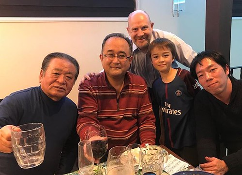 """Not Neymar with uncles & """"Tata""""!"""