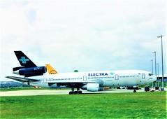 MDC DC-10-15 (Gerry Rudman) Tags: mdc dc10 sxcvp electra airlines edinburgh madrid football charter