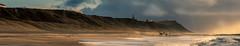 Ferring (Klummen) Tags: ferring westcoast foam dramaticclouds denmak coast thenorthsea waves