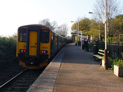 150266 Penmere (2) (Marky7890) Tags: gwr 150266 class150 sprinter 2t85 penmere railway cornwall maritimeline train