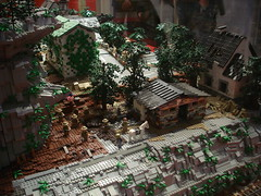 DSC05030 (fdsm0376) Tags: lego exposition madrid 2018 castle roma winter village city ww2