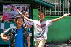 Schools out (Beegee49) Tags: street children people happy planet luminar sony a 6000 bacolod city philippines asia laughing