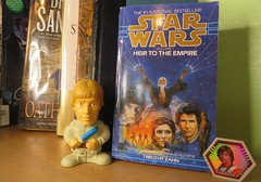 Heir To the Empire (Pookie_Monster) Tags: heir empire book review luke mara jade logophile 35 stars thrawn trilogy 70s movie vibe star wars feel
