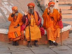 Varanasi - Sadhus (sharko333) Tags: travel reise voyage asia asien asie india indien uttarpradesh वाराणसी varanasi benares kashi hinduisme portrait people man sadhu olympus em1