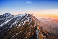 Schäfler (Cirill Schnelli) Tags: mountain mountains peak spitze berge fuji fujilove fujifilm sunset sunrise reflection moody mood lightroom photoshop ps travel hikking wandern