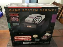 Super Nintendo Game System Cabinet ES-3000 ALS_02 (gamescanner) Tags: super nintendo game system cabinet es3000 als industries model storage case snes nes official licensed product