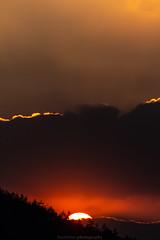 A February Sunset 2019 IV (boettcher.photography) Tags: februar february germany deutschland dilsberg neckargemünd badenwürttemberg rheinneckarkreis kurpfalz 2019 sunset sonnenuntergang sonne sun wolken clouds horizont horizon silhouette nature naturschauspiel natur sashahasha boettcherphotography boettcherphotos sky himmel abend evening